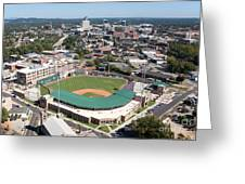 Fluor Field At The West End Greenville Greeting Card