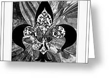 Flure De Lis Greeting Card