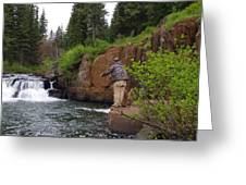 Fly Fisherman's Paradise Greeting Card