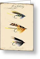 Fly Fishing-jp2095 Greeting Card