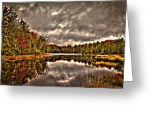 Fly Pond Marsh II Greeting Card