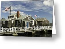 Flying Backwards-nantucket Massachusetts Series 05 Greeting Card