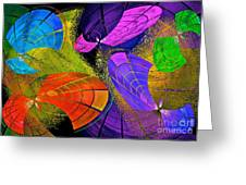 Flying Colors Greeting Card