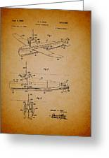 Flying Submarine Patent Greeting Card