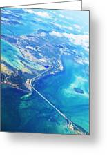 Flying To Key West Greeting Card