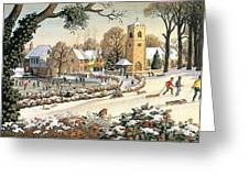 Focus On Christmas Time Greeting Card