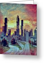 Focus On The City Greeting Card