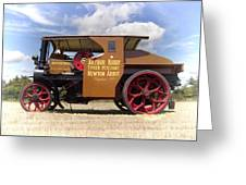 Foden Tractor Greeting Card