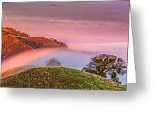 Fog Flow 12-8-14 Greeting Card