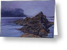 Fog Over The Bay Greeting Card