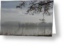 fog Greeting Card by Sonya Ragyovska