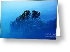Fogged Out Greeting Card