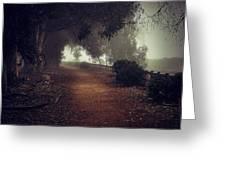 Foggy Dreams Greeting Card