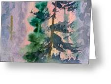 Foggy Patch Greeting Card