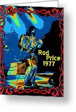 Foghat In Spokane 1977 Greeting Card