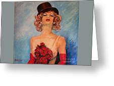 Folies Bergere Paris Greeting Card