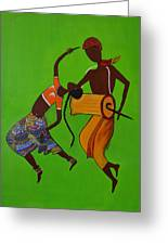 Folk Dance Greeting Card