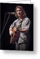 Folk Singer Griffen House Greeting Card