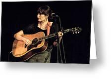 Folk Singer Pieta Brown Greeting Card
