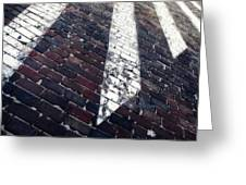 Follow Me - Abstract Photography By Sharon Cummings Greeting Card