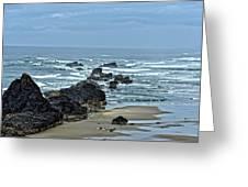 Follow The Ocean Waves Greeting Card