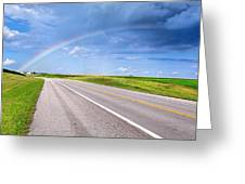 Follow The Rainbow Greeting Card