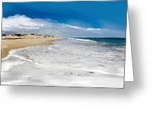 Folly Beach Scenic Walk Greeting Card