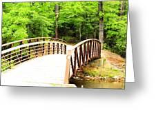 Folsom Bridge 2 Greeting Card