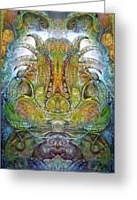 Fomorii Throne Greeting Card