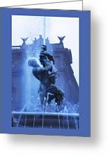 Fontana Delle Naiadi Greeting Card