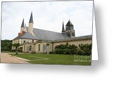Fontevraud Abbey -  France Greeting Card