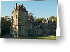 Fonthill Castle In September - Doylestown Greeting Card