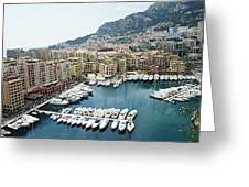 Fontvieille Greeting Card