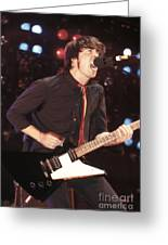 Foo Fighters Dave Grohl Greeting Card