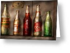 Food - Beverage - Favorite Soda Greeting Card