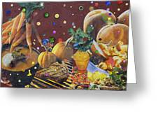 Food For Thought 5 Of 6 Greeting Card