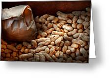 Food - Peanuts  Greeting Card