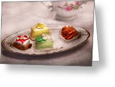 Food - Sweet - Cake - Grandma's Treats  Greeting Card
