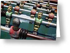 Foosball Greeting Card