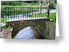 Foot Bridge At Inistioge Greeting Card