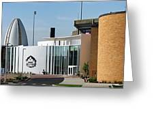 Football Hall Of Fame In Canton Greeting Card