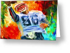 Football II Greeting Card