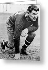 Football Player Jim Thorpe Greeting Card