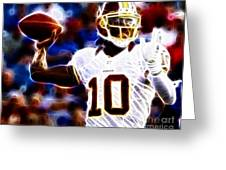 Football - Rg3 - Robert Griffin IIi Greeting Card
