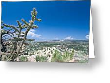 foothills of the Sangre De Christo Mountains Greeting Card