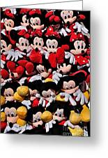 For The Mickey Mouse Lovers Greeting Card