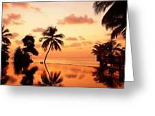 For You. Dream Comes True II. Maldives Greeting Card