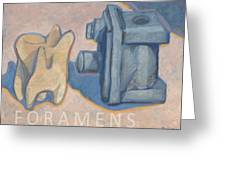 Foramens Greeting Card