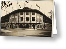 Forbes Field Pittsburgh 1909 Greeting Card