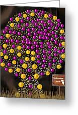 Forbidden Fruit Pop Art Greeting Card